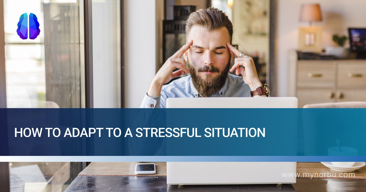 how to cope with stressful situation